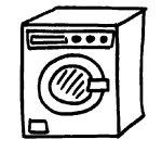 visuel machine à laver