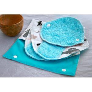 kit vadrouille serviettes hygieniques lavable eco responsable