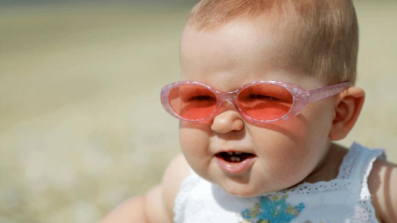 bebe lunettes de soleil