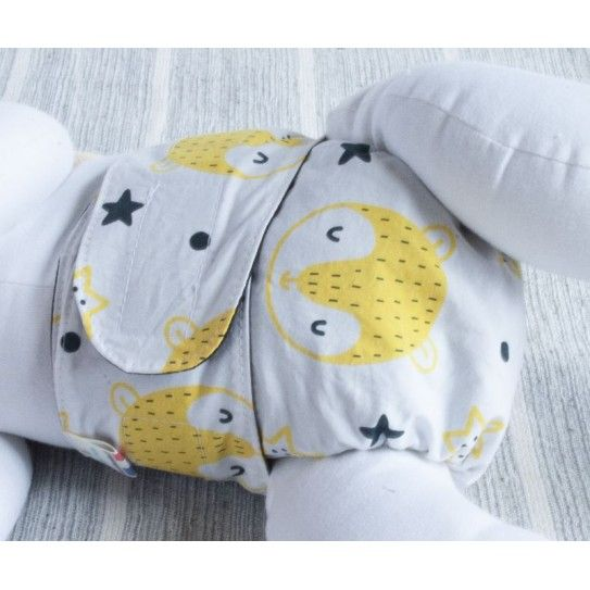 couche lavable bebe Bulles a Malices